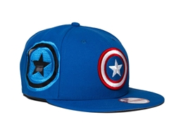 Picture of Captain America 9Fifty Fresh Side Snapback Cap