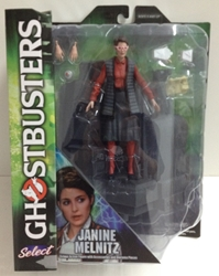 Picture of Ghostbusters Janine Melnitz Diamond Select Figure