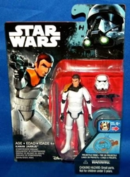 "Picture of Star Wars Rogue One Kanan Jarrus Stormtrooper Wave 01 3 3/4"" Figure"