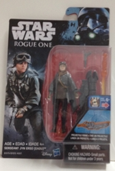 """Picture of Star Wars Rogue One Sergeant Jyn Erso Wave 01 3 3/4"""" Figure"""