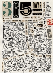 Picture of 365 Days Diary by Julie Doucet HC