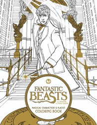 Picture of Fantastic Beasts and Where to Find Them Coloring Book SC
