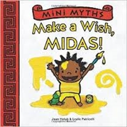 Picture of Mini Myths Make a Wish Midas Book