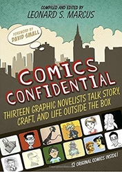Picture of Comics Confidential HC Thirteen Graphic Novelists Talk Story, Craft & Life Outside the Box