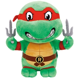 Picture of Teenage Mutant Ninja Turtles Raphael TY Plush