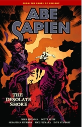 Picture of Abe Sapien Vol 08 SC Desolate Shore