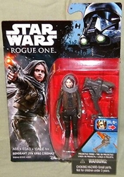"Picture of Star Wars Rogue One Sergeant Jyn Erso Wave 02 3 3/4"" Figure"