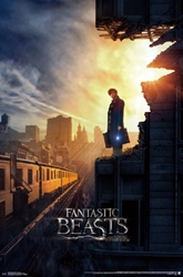 "Picture of Fantastic Beasts and Where to Find Them 22""x34"" One-Sheet"