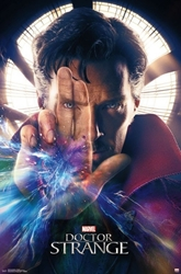 "Picture of Doctor Strange 22""x34"" One-Sheet"