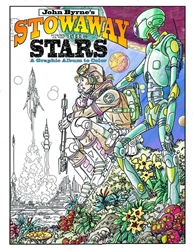 Picture of Stowaway To the Stars Graphic Ablum To Color SC