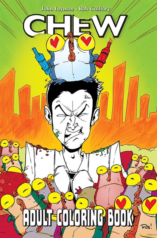 Bedrock City Comic Company. Chew Adult Coloring Book TP