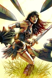 Picture of Xena Warrior Princess All Roads SC