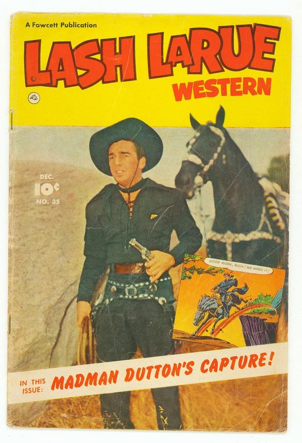 Bedrock City Comic Company Lash Larue Western 35