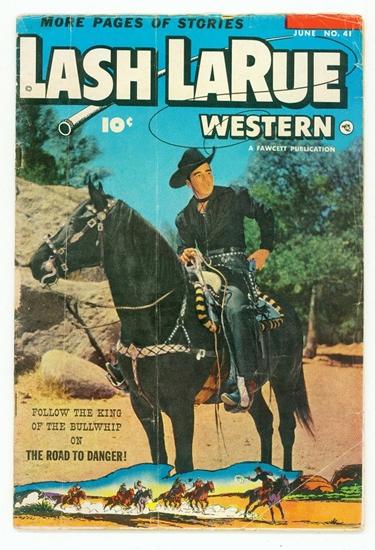 Bedrock City Comic Company Lash Larue Western 41
