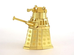 Picture of Doctor Who Gold Dalek 3D Metal Model Kit