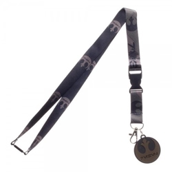 Picture of Star Wars Rogue One Rebel Lanyard with Charm