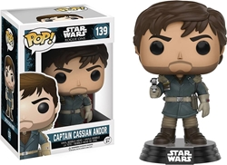 Picture of Pop Star Wars Rogue One Captain Cassian Andor Vinyl Figure