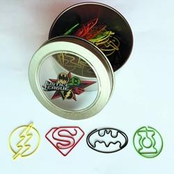 Picture of Justice League 40 Piece Paper Clip Set
