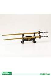 Picture of Ieyasu Tokugawa Samurai Chopsticks
