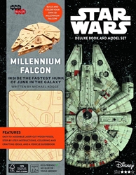Picture of Incredibuilds Millennium Falcon Deluxe Model With Book