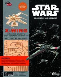 Picture of Incredibuilds X-Wing Deluxe Model With Book