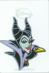 Picture of Disney Villains Sleeping Beauty Maleficent w/Crow Patch