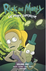 Picture of Rick and Morty Lil Poopy Superstar TP VOL 01
