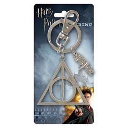 Picture of Harry Potter Deathly Hallows Pewter Key Ring