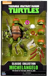 Picture of Teenage Mutant Ninja Turtles Michelangelo Classic Collection Action Figure