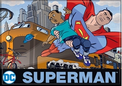 Picture of DC Darwyn Cooke Superman Magnet