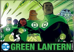 Picture of DC Darwyn Cooke Green Lantern Corps Magnet