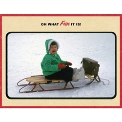 Picture of Holiday Oh What Fun It Is Greeting Card