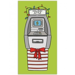 Picture of Holiday ATM Greeting Card 8-Piece Set