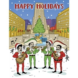 Picture of Holiday Mariachi Greeting Card 8-Piece Set
