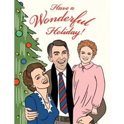 Picture of Holiday Wonderful Life Greeting Card