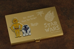 Picture of Star Wars R2-D2 & C-3PO Business Card Holder