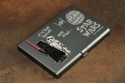 Picture of Star Wars Darth Vader & Stormtrooper Business Card Holder