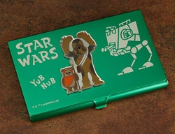 Picture of Star Wars Chewbacca & Wicket Business Card Holder