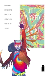 Picture of Wicked & Divine #25 Cover A Mckelvie & Wilson