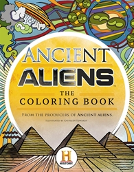 Picture of Ancient Aliens Coloring Book SC