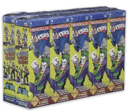 Picture of DC Heroclix The Joker's Wild Booster Brick