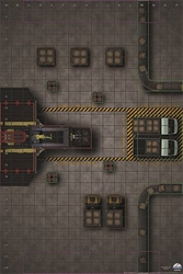 Picture of Heroclix Warehouse Factory Premium Map