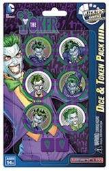 Picture of DC Heroclix Joker Dice and Token Pack