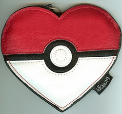 Picture of Pokemon Heart Shaped Coin Bag