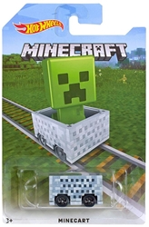 Picture of Minecraft Minecart Hot Wheels Vehicle