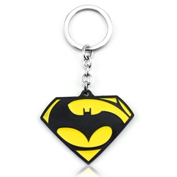 Picture of Batman and Superman Keychain