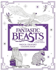 Picture of Fantastic Beasts and Where to Find Them Magical Creatures Coloring Book SC