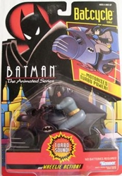 Picture of Batman with Batcycle with Motorized Turbo Power! Animated Series Action Figure