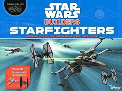 Picture of Star Wars Builders Starfighters Book and Model Kit