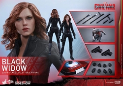 Picture of Black Widow Civil War 1/6 Scale Hot Toy